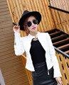 Весна и осень самосовершенствование автомобиль кожаная куртка PU кожи женщин короткий параграф женская новый Корейский небольшой куртка