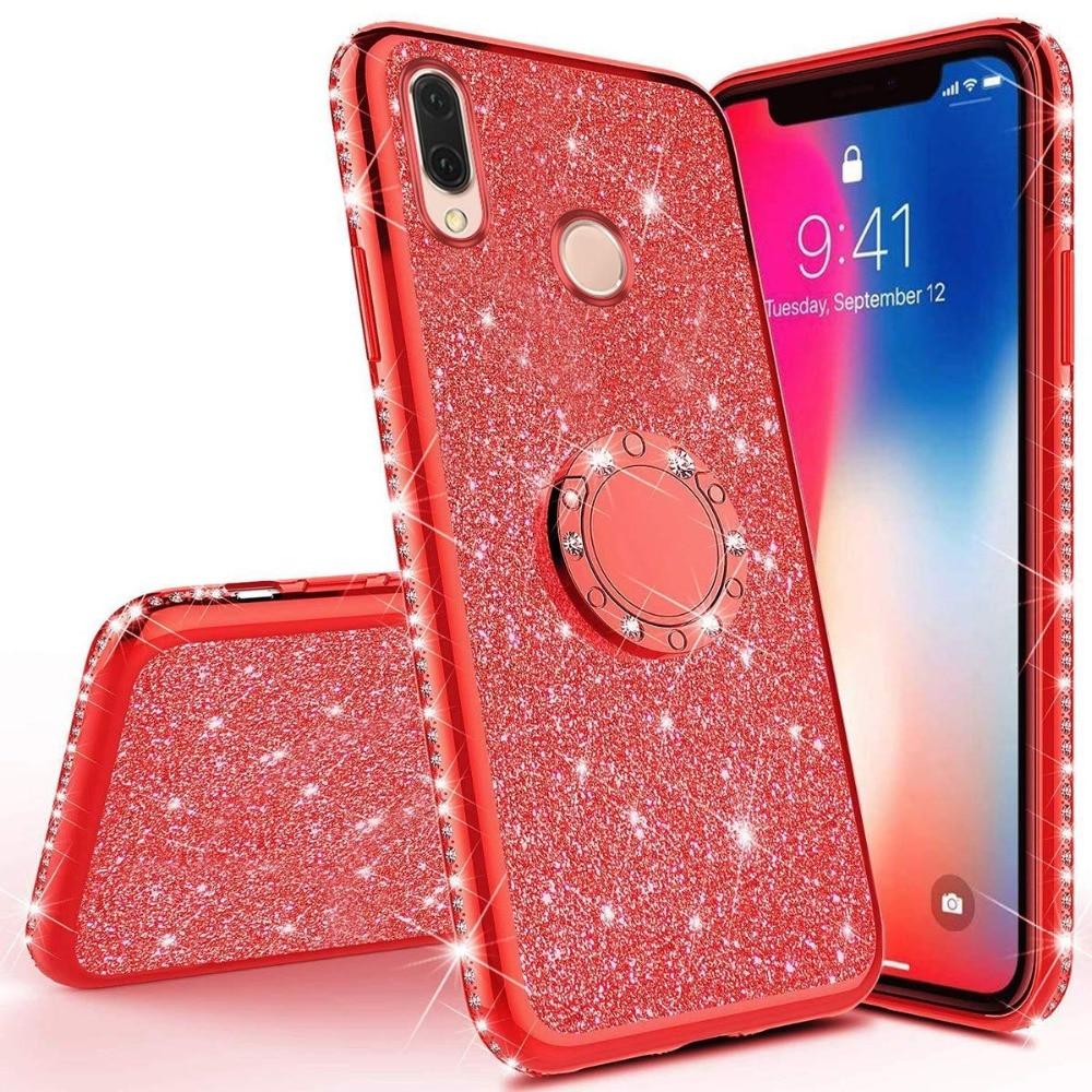 Diamond Case for Xiaomi Redmi Note 7 5 Redmi 7 6 6A Pro 5 Plus Cover For Xiaomi Mi 9 Mi 8 SE Lite Play A2 Lite Glitter Case  (21)