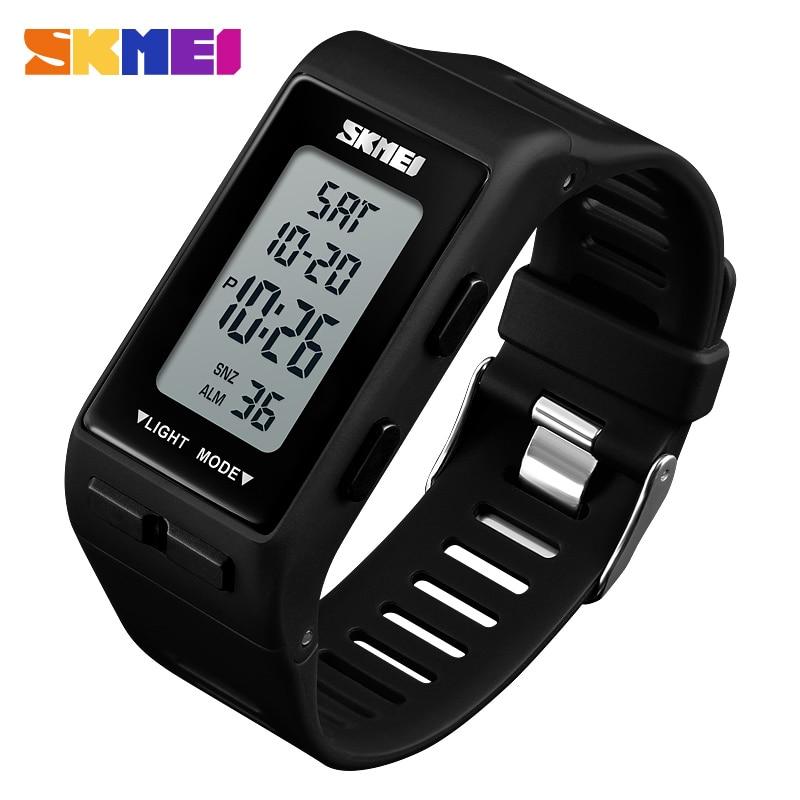 SKMEI Luxury Bracelet Sports Watches Men Women Fashion Digital Watch Waterproof Clock Countdown Wristwatches Relogio Masculino