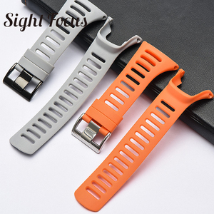 Image 5 - SIGHT FOCUS Sports Rubber Silicone Strap For SUUNTO Ambit 1 2 3 2R 2S Ambit 3 Peak Watchbands 36mm Watch Band Buckle Wrist Strap