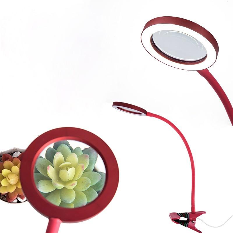 USB 3.5X Circline Veränderbar Led-lampe Lupe Einstellbare Helligkeit Kaltlichtlampe Lupe für Schönheit Nail Tattoo