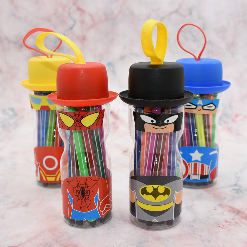 12/18/24 Colors Quality Marker Pen 0.4 Mm Ultra-thin Plastic Cartoon Watercolor Pen Sketch Painting Student Supplies