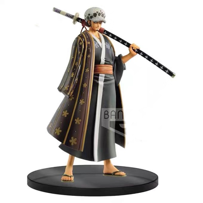 In stock Banpresto One Piece Figure The Grandline Men DXF vol.3 Trafalgar D Law PVC action figurine image