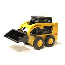 Высокая симуляция многоцелевой инженерный автомобиль, 1: 25 сплав ковшовый автомобиль, металлический литой погрузчик модель игрушки