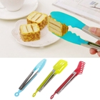 Non-Stick Kitchen Tongs Stainless Steel Barbecue Tongs Pizza Bread Steak Tong Clip Kitchen Tool