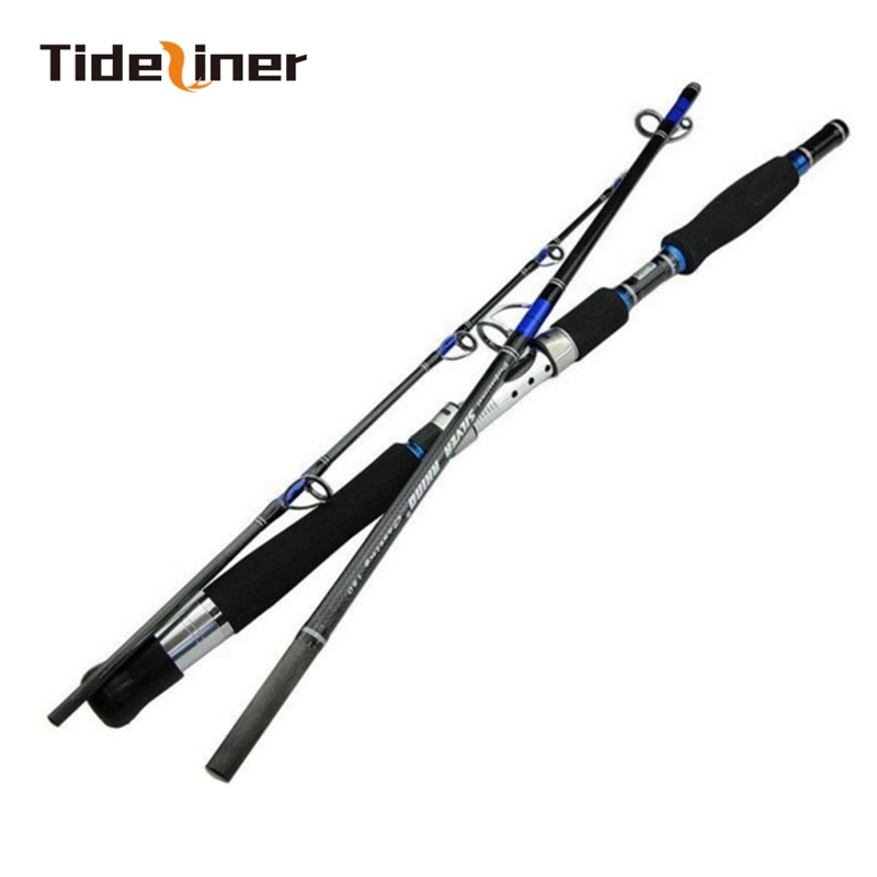 Tideliner 1 8m 1 95m 2 1m Boat fishing Rod Carbon fiber spinning jigging fishing rods