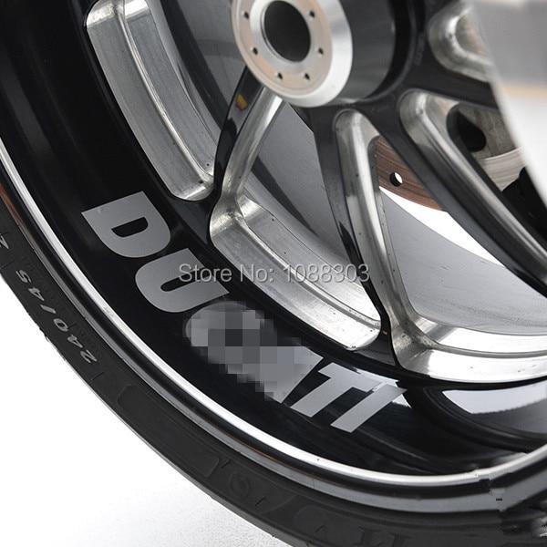Prix pour Moto Roue Stickers Casque Vélo De Voiture Autocollant pour Italie DUCADiavel Carbone 696 821 848 1100 1098 1199