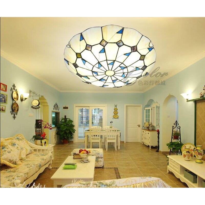 light ceiling lamps LED bedroom lamp North Garden simple European style restaurant lighting warm living room lamps DF54