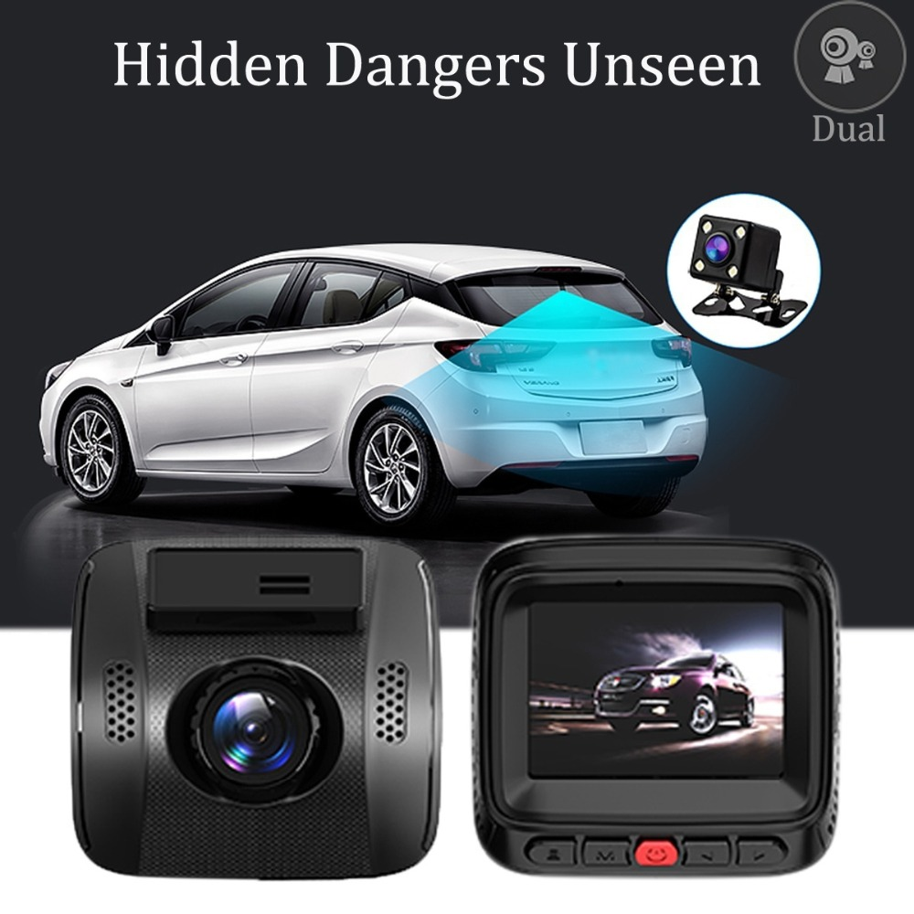 1080P Dash Cam Car DVR Wide Angle Vehicle Dashboard Camera Recorder with Sony Exmor Sensor WDR Loop Recording G Sensor