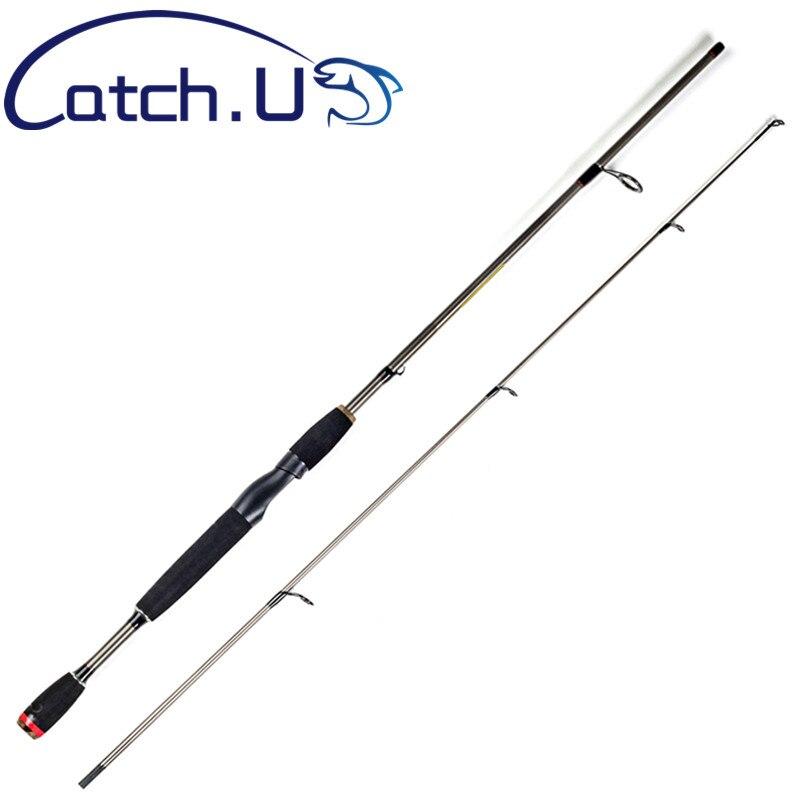 Captura. U 1.7 m/1.8 m 2 Sección Pesca carpa carbono Pesca Rod 6-15lb Cañas de pescar