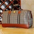 Duplo 11 Moda 2014 Hot Sale Grande Capacidade À Prova D' Água tamanho 50*30*25 cm mulheres de viagem do saco da bolsa bagagem 9 Estilos LY0034