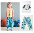 INS 2017 BOBO CHOSES ONDA PRPNT niños ropa pantalones de los niños NIÑOS de MANGA LARGA T SHIRTS ROPA CONJUNTOS PANTALONES oferta especial claro