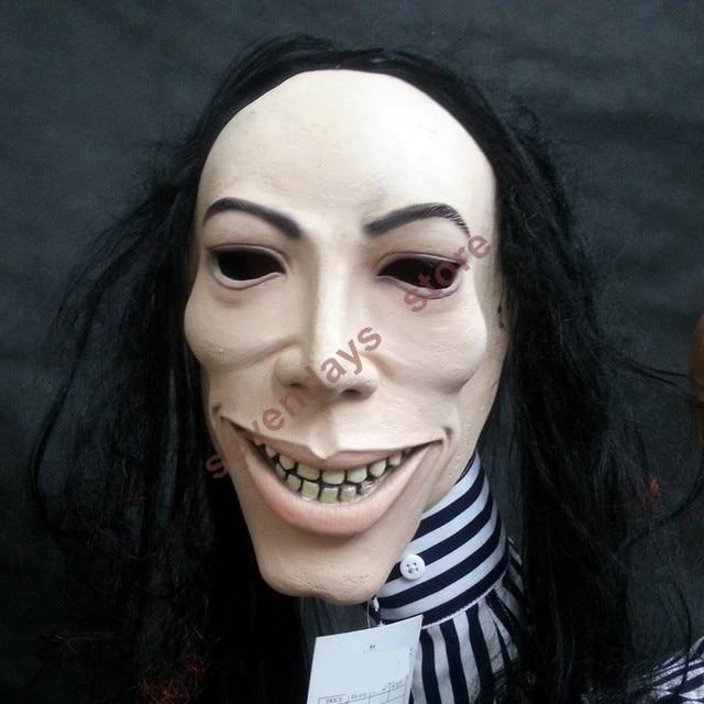 2018 halloween mask the eternal idol michael jackson mask famous mj latex mask for halloween costume