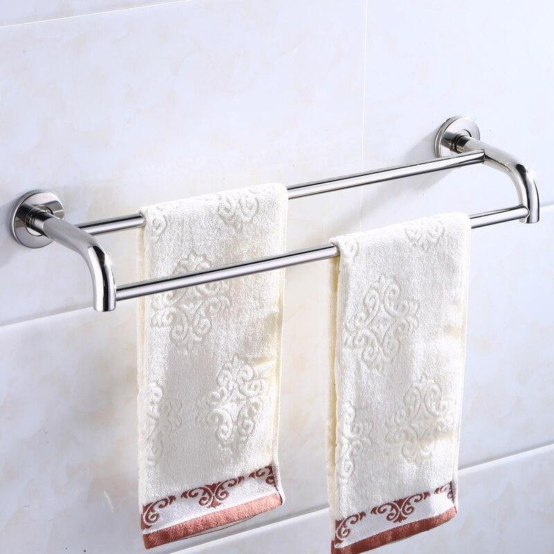 Billiger Preis Hohe Qualität Edelstahl Handtuch Rack Bad Regal Handtuch Aufhänger Waschlappen Lagerung Rack Bad Zubehör Hardware