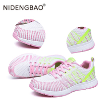 Women Sneakers Light Weight Running Shoes Breathable Air Cushion Sneakers for Female Jogging Walking Shoes zapatos de mujer li ning genuine women s cushion running shoes sports textile light weight sneakers lining breathable shoes arhm034