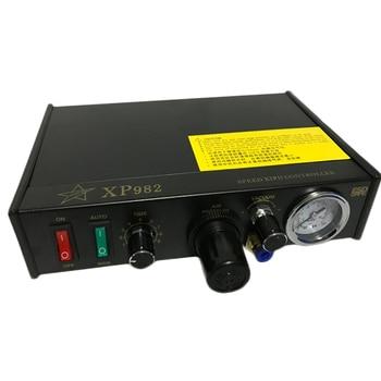SP982 Glass Glue Machine Double Port Automatic Dispensing Machine Silicone Machine Accessories Epoxy Machine 220V/110V