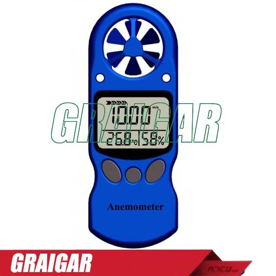 TL-300 Digital Air velocity / Air temperature Anemometer  LCD Digital Wind Speed Meter,Free Shipping tl 300 digital lcd air temperature anemometer air velocity wind speed meter