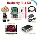 Placa Raspberry Pi 3 Modelo B + 3.5 TFT LCD + 8 GB Cartão TF + Fonte De Alimentação 2.5A (UE OU EUA) + Acrílico Case + Dissipadores de Calor + Cabo HDMI