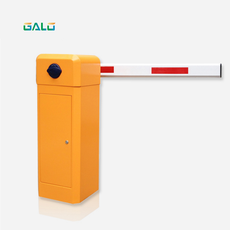 Parking Lot Park Entrance And Exit Control 3-5m Boom Guardrail Pole 2 Layer Automatic Parking Door Guardrail Traffic Toll Collec