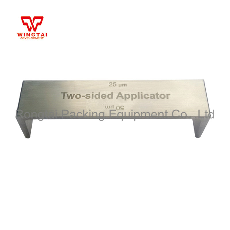 Stainless Steel BGD202 Precise Double Side Applicator for Printing Industrial Wet Film Applicator corrosion resistant industry stainless steel four side wet film applicator