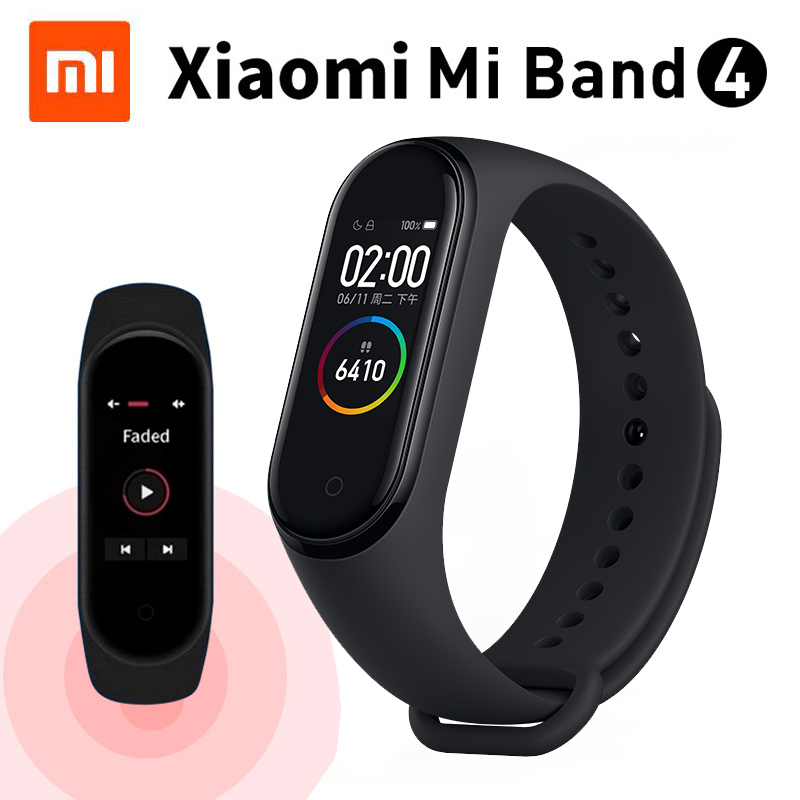 Xiaomi Mi Band 4 Smart Bracelet 0 95 Color AMOLED Bluetooth 5 0 135mAh 2019 Newest