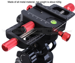 Image 5 - 150mm macro focando trilho slider close up tiro cabeça com arca swiss ajuste braçadeira placa de liberação rápida para tripé ballhead