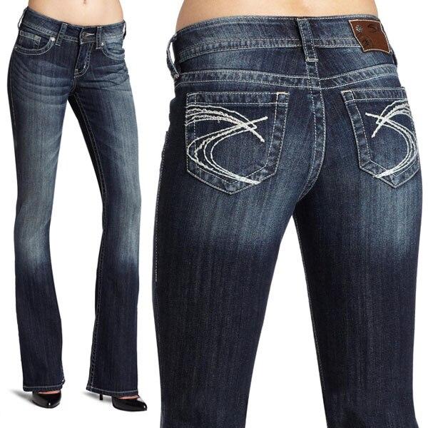 Suki Silver Jeans Jean Sto
