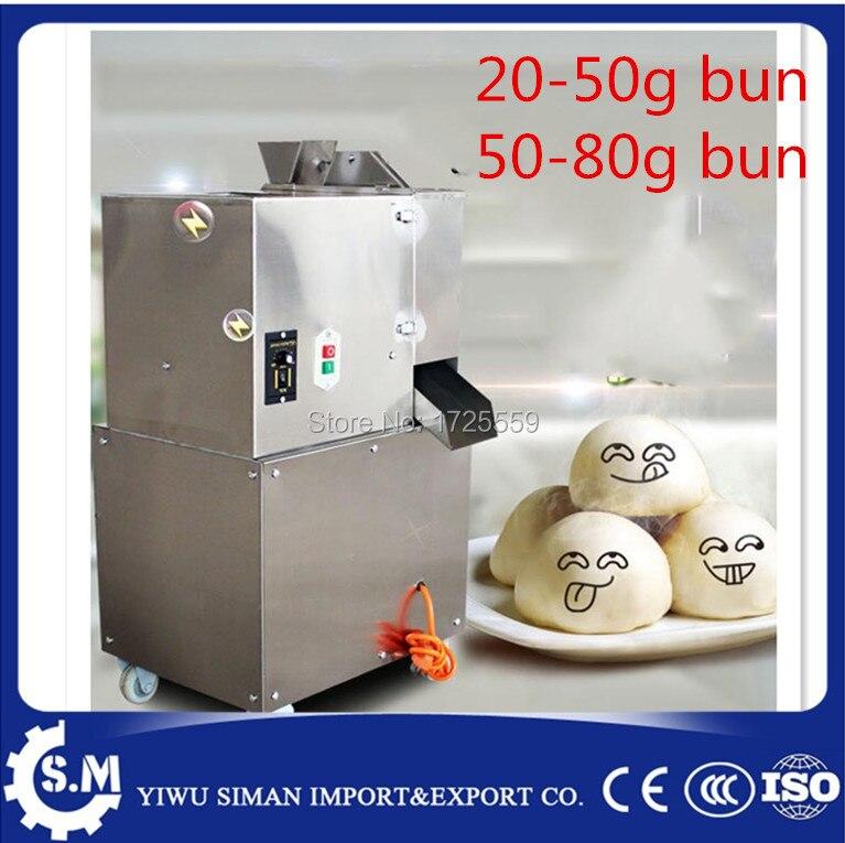 stainless steel dough divider rounder roller machine pizza and bread bun maker machine mini weight bun between 20 80g choose