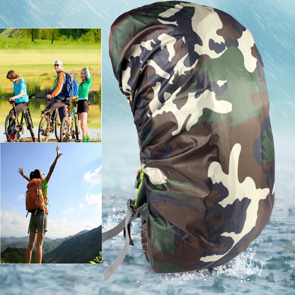 Waterproof Camo Rain Cover Dustproof Camo Travel Hiking Backpack Outdoor Camping Rucksack Bag Rain Cover