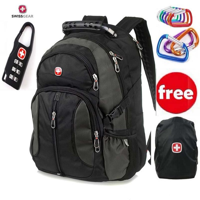 c2581f45d7 Free shipping Swissgear laptop backpack for 12