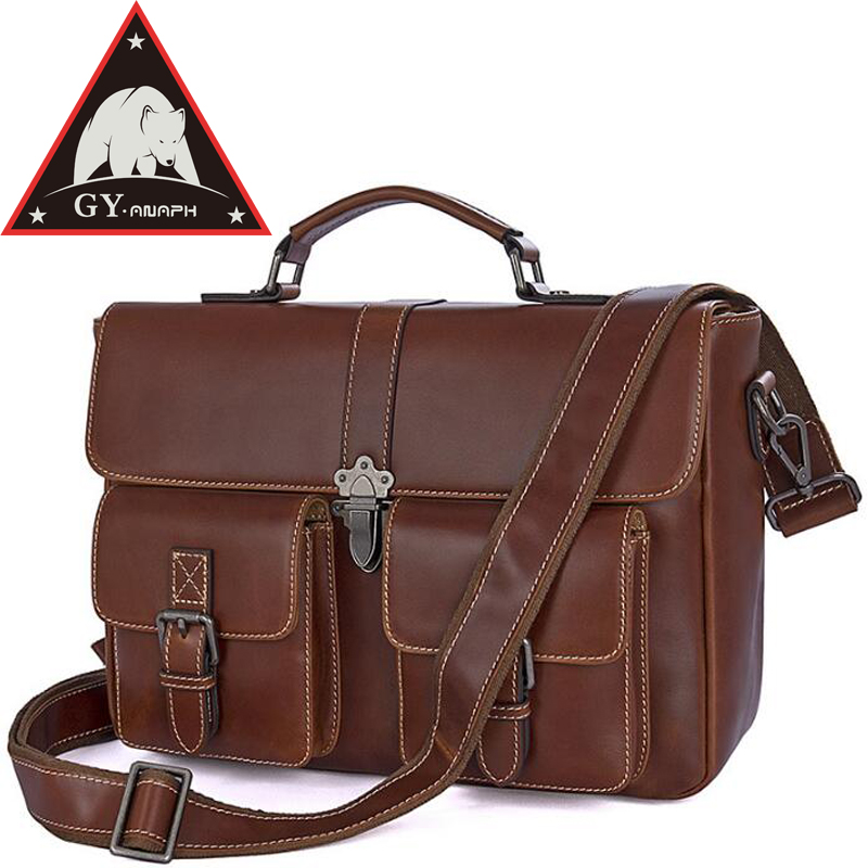 все цены на ANAPH Satchels, Men's Full Grain Leather Executive Briefcases, Women's Messenger Bags, Tote Bag Fit 12.9