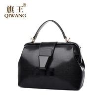 Luxury Brand Handbags Women Bags Fashion Setting Bag Luxury Brand Genuine Leather Doctor Bag East Asian Female Loved