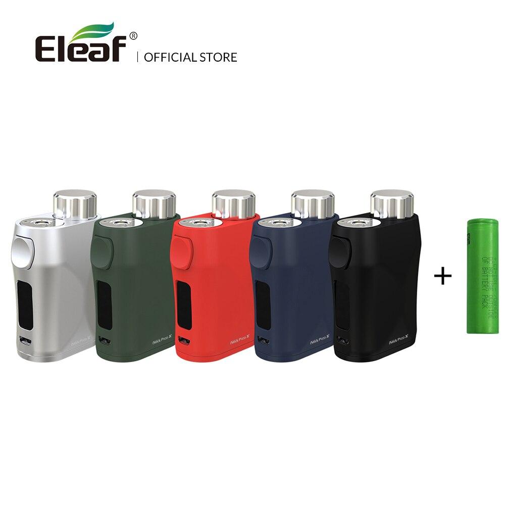 Batterie d'origine Eleaf iStick Pico X Box Mod 75 W max Wattage 18650 avec écran de 0.69 pouces Vape Box Mod Cigarette électronique