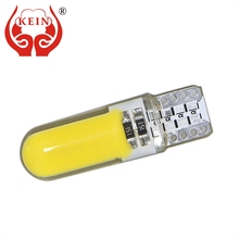 KEIN 2pcs Car LED auto T10 194 168 W5W COB Side Wedge Light Door License Plate Reading Lamp Interior Bulb Vanity Mirror Vehicle