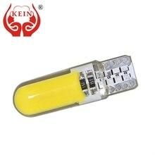 KEIN 2pcs Car LED auto T10 194 168 W5W COB Side Wedge Light Door License Plate