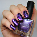 1 Bottle 18ml Nail Polish Purple Color Nail Polish Art Enamel Gel Paint Manicure Nail Art Printing Varnish #29