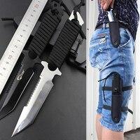 Stainless steel survival knife faca navajas leggings diving straight knife outdoor camping pocket knife tactical knife.jpg 200x200