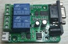 2 yönlü röle çıkışı 2 anahtarı giriş sinyali toplama modülü RS232 iletişim MODBUS