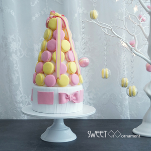 Image 5 - SWEETGO Grand Baker soporte para pastel, 12 pulgadas, herramientas de boda blancas, molde para Fondant, suministros de decoración de cupcakes, mesa de postre