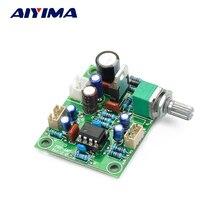 Усилитель предусилитель AIYIMA NE5532, плата для регулировки громкости в 10 раз, плата для увеличения DC10 34V, домашний усилитель, сделай сам
