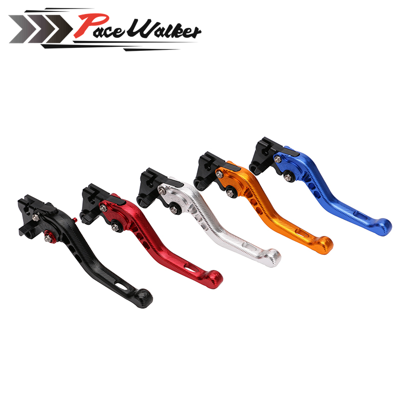 Adjustable MOTORCYCLE CNC Short Brake Clutch Levers For Yamaha YZF R6 2005-2014 YZF R1 2004-2008 R6S 6 colors cnc adjustable motorcycle brake clutch levers for yamaha yzf r6 yzfr6 1999 2004 2005 2016 2017 logo yzf r6 lever