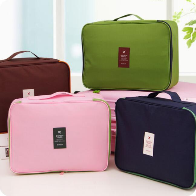 Large Travel Clothes Storage Bag Portable Waterproof Clothing Organizer