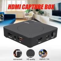 1080P HD Game Video Capture Box HDMI Video Recoder Box TV & Video Live USB to PC Video Capture Card Recorder UHD BOX