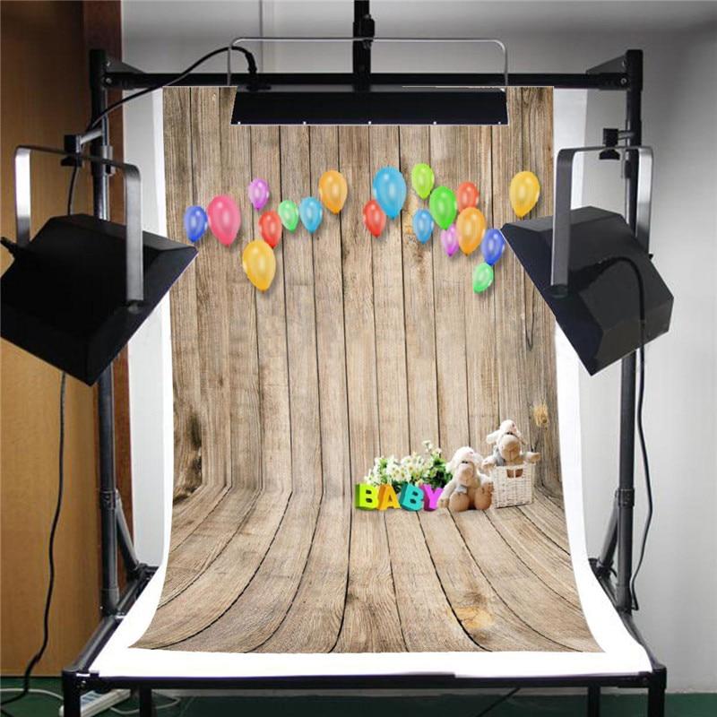 150cmx210cm Vintage Wooden Board  Balloon Photography Background Backdrop Photo Studio Wedding Children Baby Photobooth Props