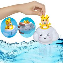 Bath Toys for Kids Bathroom Baby Raining Clouds Baby Baths Play Water Spray Toy Bath Cute Baby Kids Shower Toys Cartoon Gifts(China)