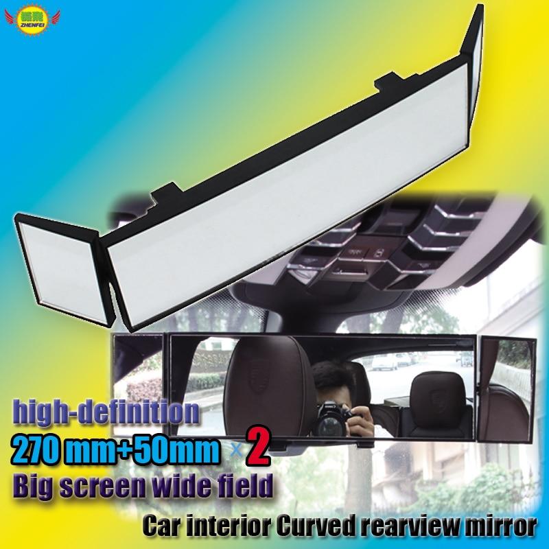 espelho interior do carro acessorios do carro estilo do carro clipe no espelho retrovisor convexo grande
