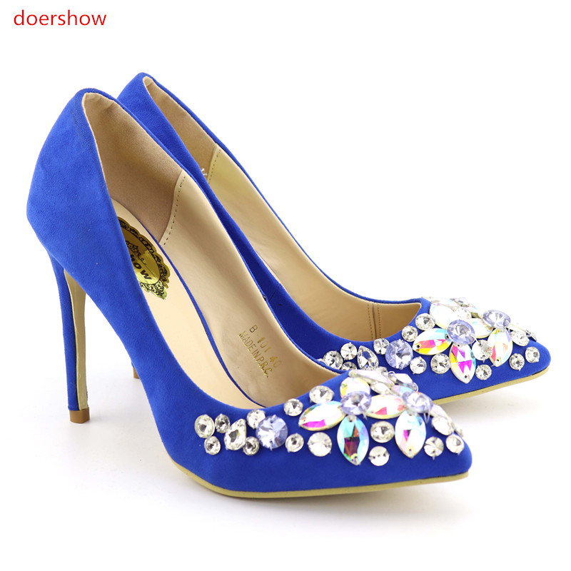 doershow Italian Matching Shoes and Bag Set Matching Italian Shoe and Bag Set for Women Italy Shoe and Bag Set 2017  FG1-8 doershow african shoes and bags fashion italian matching shoes and bag set nigerian high heels for wedding dress puw1 19