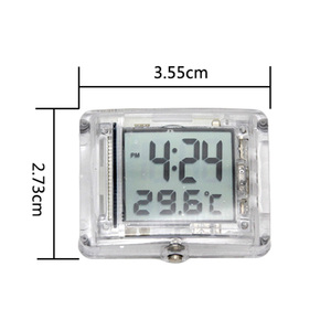 Image 3 - バイク時計腕時計防水スティックンプオンオートバイエアフィルターデジタル時計ユニバーサル用ヤマハホンダ、スズキ、 Ktm などモトアクセサリー