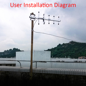 Image 4 - Yagi هوائي 3G yagi في الهواء الطلق هوائي 3g هوائي LTE1800MHz 13dBi 4G هوائي خارجي N أنثى ل مكرر إشارة الداعم