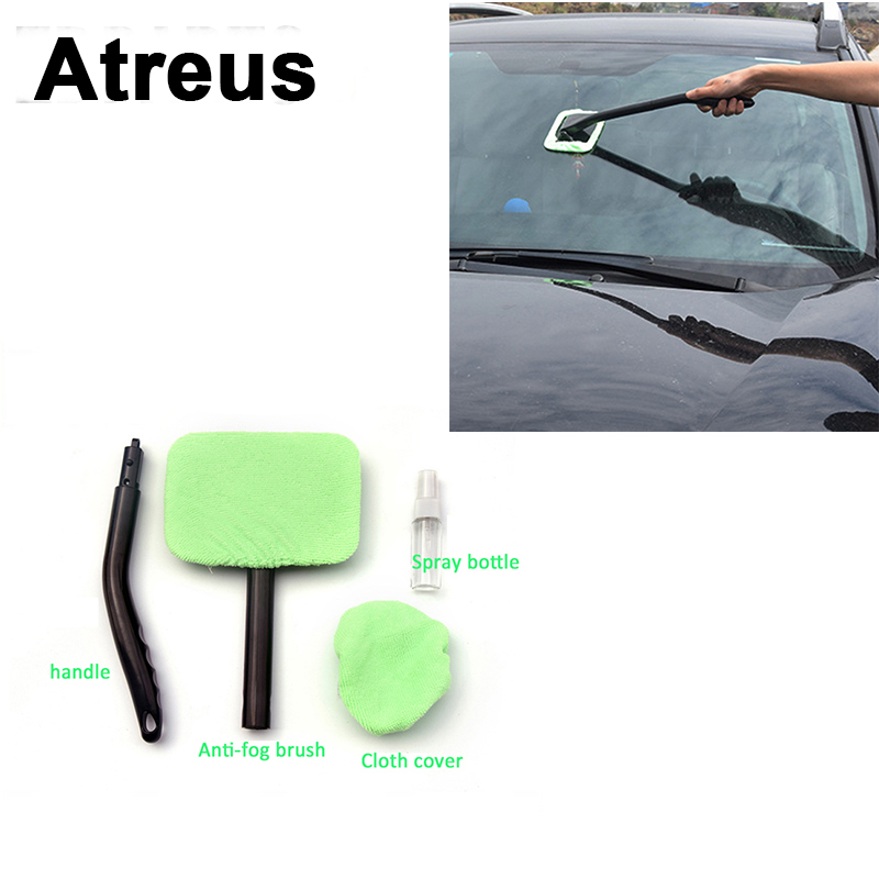 Atreus Car Window Windshield Brush Dust Removal Clean For VW polo passat b5 b6 Ford focus 2 fiesta Mazda 3 6 cx-5 Toyota corolla